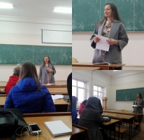 Career week at the Department of English Philology (05.11.18 - 9.11.18)