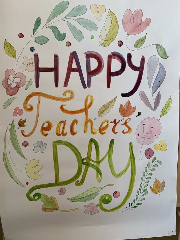 Happy Teacher's Day and Education worker`s Day!